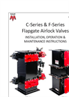C-Series & F-Series Flapgate Airlock Valves - Installation, Operation & Maintenance Instructions - Manual