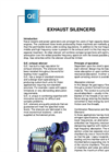 Exhaust Silencers Brochure