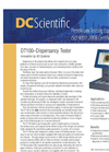Model DT100DL - Dispersancy Tester Brochure