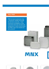 Fibox MNX Polycarbonate (PC) Enclosures Brochure
