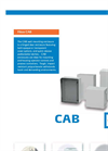 Fibox CAB Polycarbonate (PC) Wall Mount Enclosures Brochure