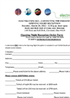 Open Night Reception Form