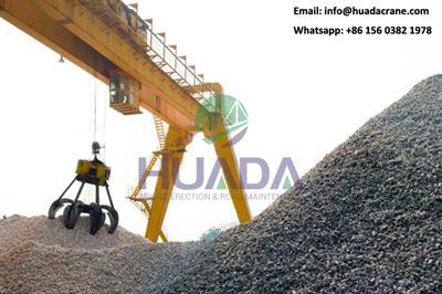 gold supplier hydraulic grab electric 80 ton gantry crane