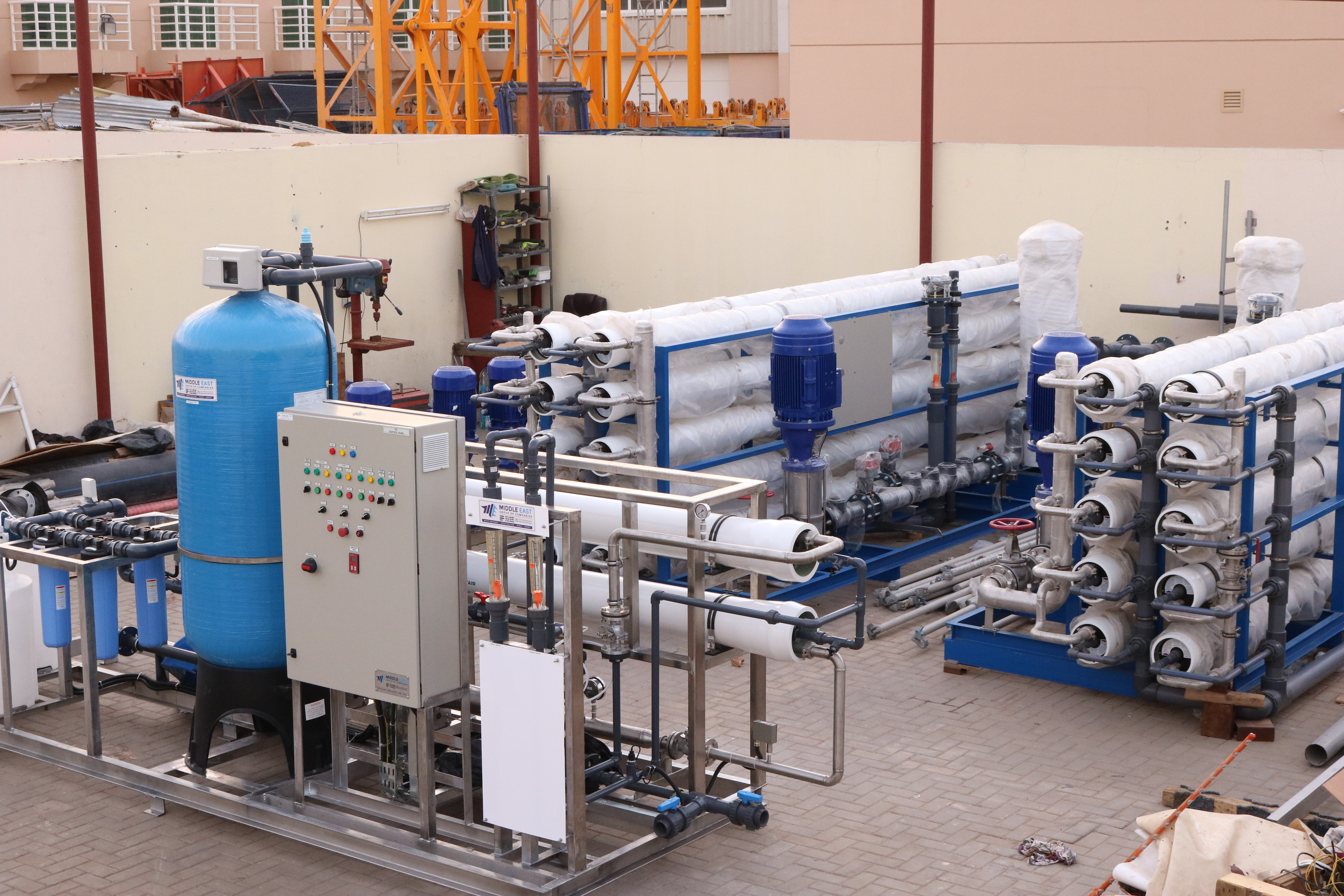 Package Reverse Osmosis Plant -1