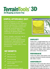Terrain Tools - 3D Mapping Software Brochure