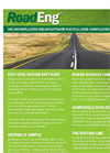 RoadEng - Site and Road Design Software Package - Brochure