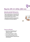 RayVio - Model XR Series - UV Emitter or Star Board LED - Brochure