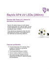 RayVio - Model XP4 Series - UV Emitter or Star Board LED - Brochure