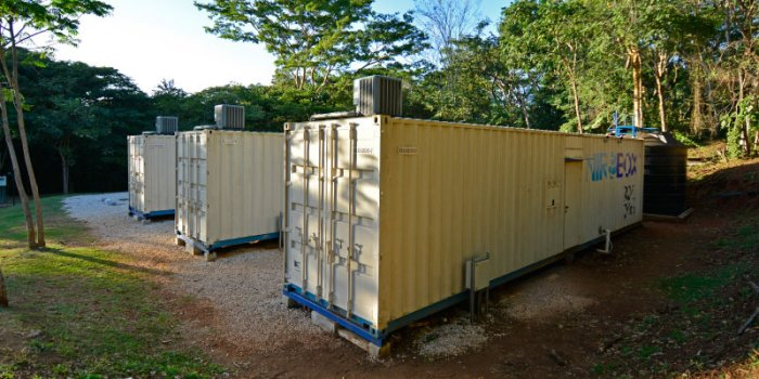 NIROBOX Seawater Desalination for Coastal Resort - Case Study