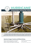 HURRICANE Submersible Aerator - Brochure