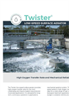 TWISTER Low-Speed Surface Aerator - Brochure