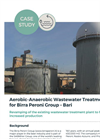 Aerobic-Anaerobic treatment plant for Birra Peroni Group