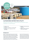Containerized Ultra Pure Water systems for utility