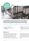 Seawater Desalination to Supply Flue Gas Desulfurization System