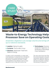 Waste-to-Energy Technology Helps Fish Processor Save on Operating Costs