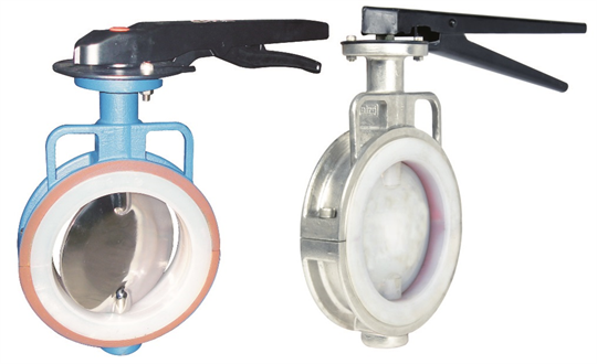 PFA_Lined_Butterfly_Valve