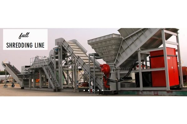 GME - Shredding Line for Aluminium Scraps With Component`s Separation