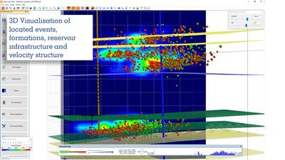 InSite-HF - Version 3.15 - Microseismic Processing, analysis and Visualisation for Reservoir Monitoring Software