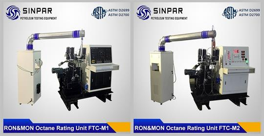 Combination (Research and Motor method) Octane Rating Unit SINPAR FTC-M1/M2