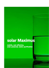 Solar Maximus Series Brochure