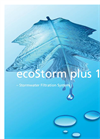 EcoStorm Plus - Model 1500 - Stormwater Filtration System- Brochure