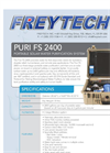 Freytech - PURI FS 2400 - Portable Solar Water Purification System Brochure