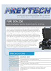 Freytech - PURI SEA 200 Man-Portable Water Purification System Brochure