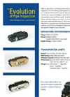Microtracs - Crawler Track Specification Sheet