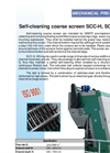 Model SCC-H & SCC-HG - Self Cleaning Coarse Screen Brochure