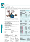 Matheson - Model 3200 Series - Single-Stage High-Purity/High Flow Brass and Stainless Steel Regulator - Datasheet