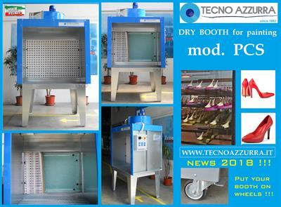 Tecno Azzurra - Model PCS - Mini Dry booth for painting