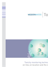 Toxicity Monitoring Technologies for On Line, On Location and the Laboratory Brochure