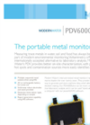 Model PDV 6000 Ultra - Portable Metal Monitor Brochure