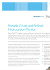 PetroChek Portable Crude and Refined Hydrocarbon Monitor Brochure