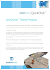 QuickChek Testing Products Brochure