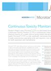Microtox - Model CTM - Continuous Toxicity Monitoring Brochure