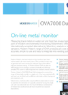 Model OVA 7000 Dual Cell - On-line Metal Monitor Brochure