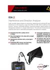 Model IDA Set - Handheld Portable Interference and Direction Analyzer Brochure