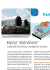 Rotoshear Internally Fed Rotating Wedgewire Drum Screen Brochure