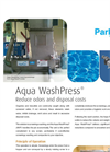 AQUA WashPress Dewatering ScrewPress Brochure