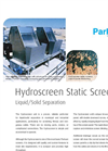 Hydroscreen Bi Wave Panel Static Screen Brochure