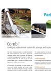 Combi - Packaged Headworks Systems for Sewage and Septage Receiving Brochure