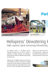 Helixpress - Shaftless Spiral Dewatering Press Brochure