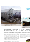 Rotoshear - Model PF - Internally Fed Rotating Perforated Plate Drum Screen Brochure