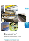 Rotostrainer - Externally Fed Rotating Drum Screen Brochure
