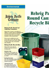 Round Cans & Recycle Bins - Brochure (PDF 278 KB)