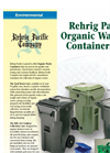 Model 40 Liter - Organic Waste Collection Cart Brochure