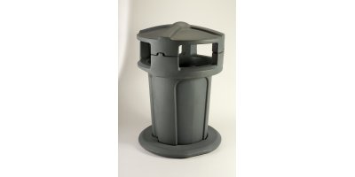 Model 75 Gallon - Public Litter Container