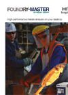 Hitachi High-Tech - Model FOUNDRY-MASTER Optimum / Smart  - Brochure