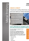 Hitachi High-Tech - Model CMI255 and CMI257 - Coating Thickness Gauges - Brochure
